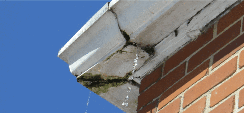 how to repair damaged gutters