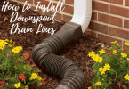 How to Install Downspout Drain Lines