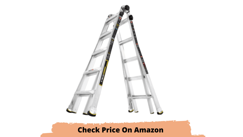 Best gutter cleaning ladder