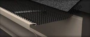 types of gutter guard