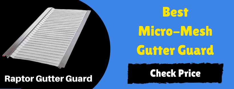 best micro-meh gutter guard