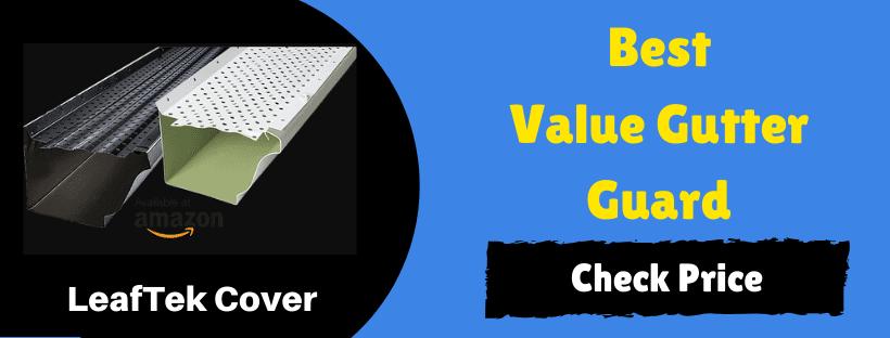 best value gutter guard