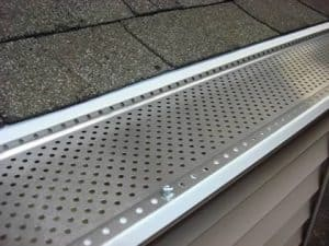 Best gutter guards reviews and complete buying guide 2018 this type allows only the rainwater to enter the opening while the debris is washed off the edge of the roof but these covers may easily clog solutioingenieria Image collections