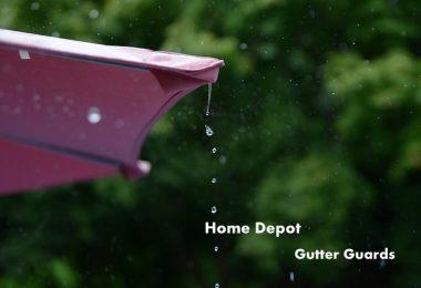 home depot gutter guards review