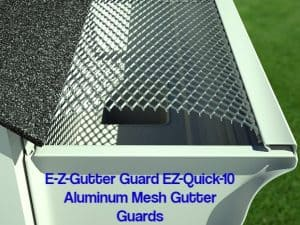 Top brand gutter guard reviews what expert says guard ez quick 10 aluminum mesh gutter guards solutioingenieria