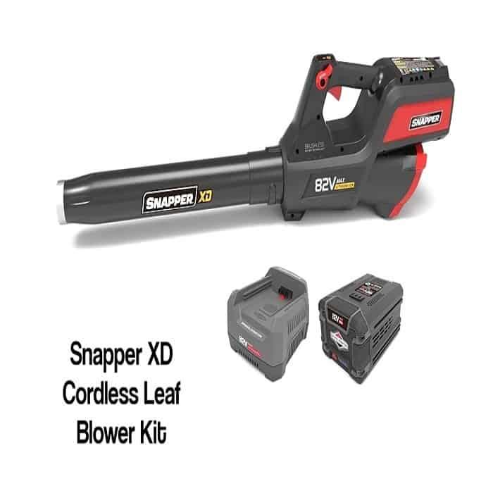 Snapper XD SXDBL82K 82V 550 CFM Cordless Leaf Blower Kit