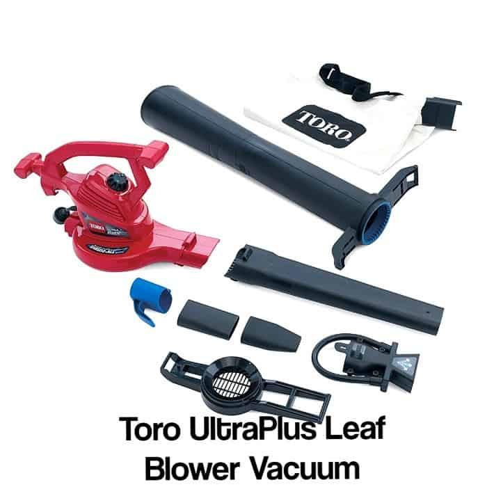 Toro 51621 UltraPlus Leaf Blower Vacuum review