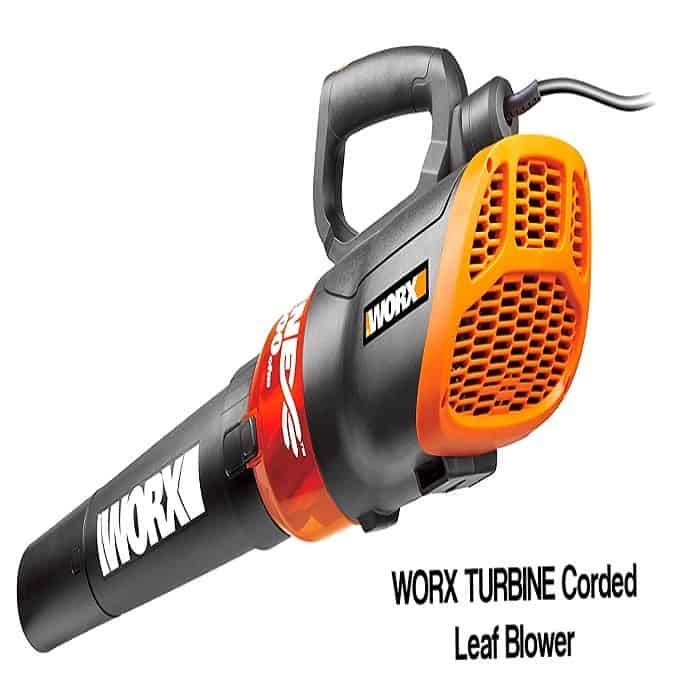 WORX TURBINE 12 Amp Corded Leaf Blower review