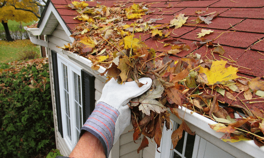 painting gutters to match trim