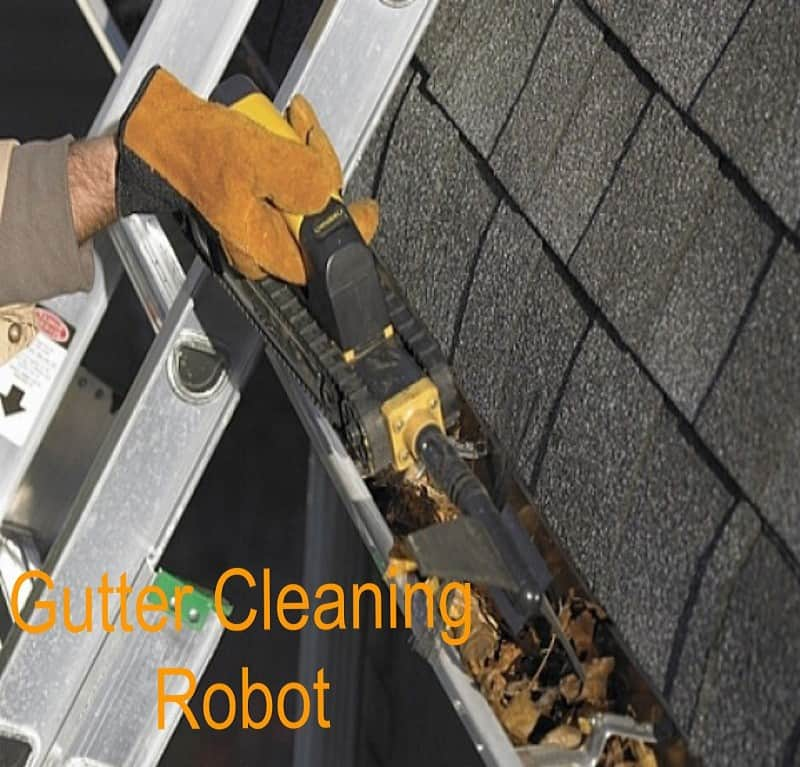 gutter cleaning robot review
