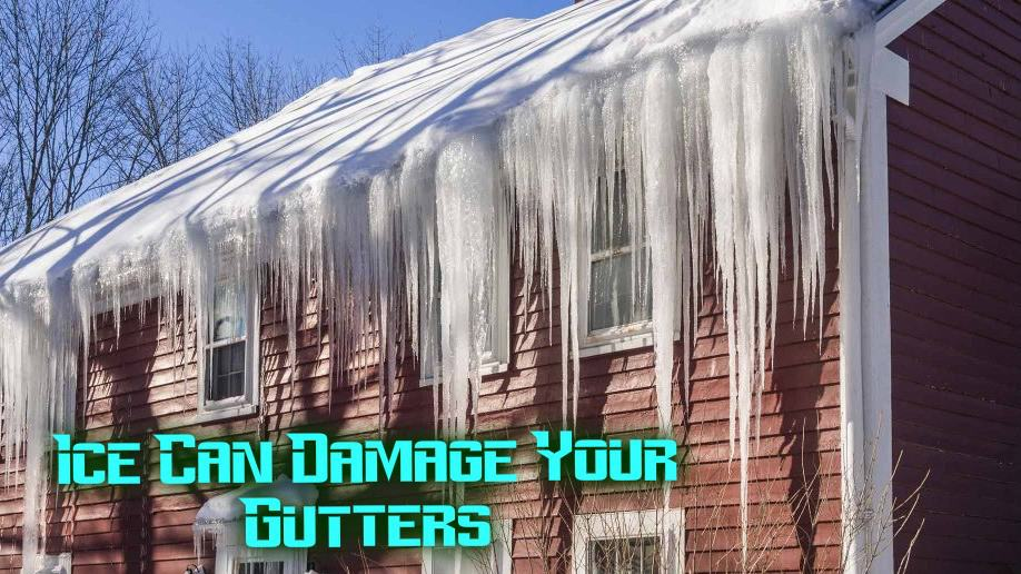 how to fix frozen gutters