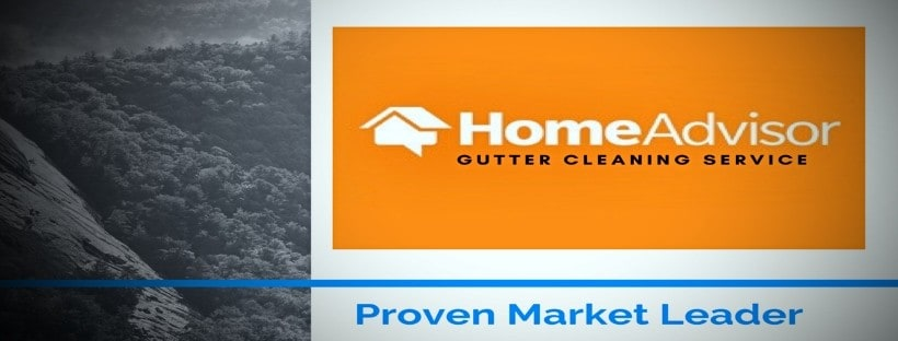 Home advisor gutter cleaning service