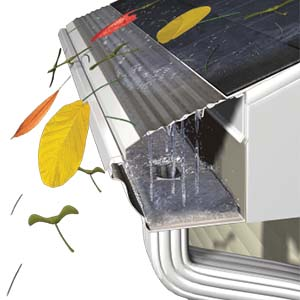 best gutter covers for pine needles