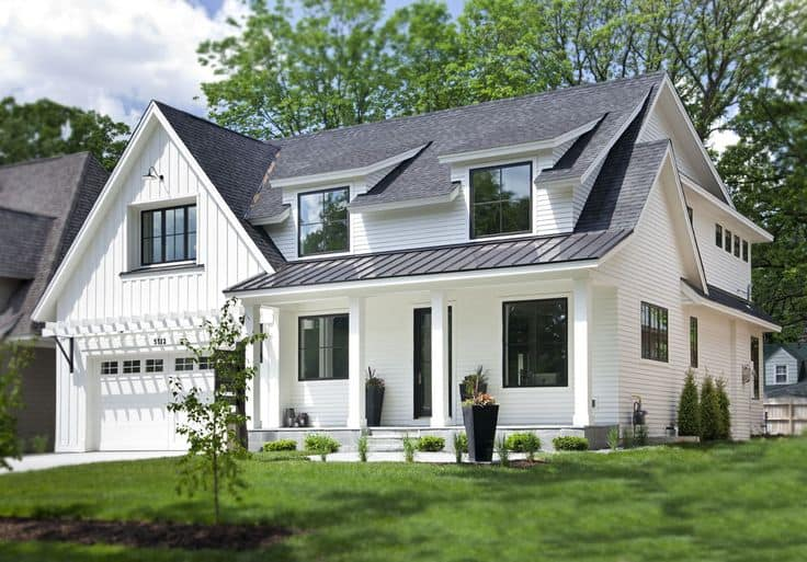 Gray Is The Best Roof Color For A White