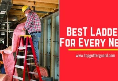 best multi-purpose ladder for gutter cleaning
