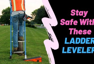 best ladder leg leveler for stairs