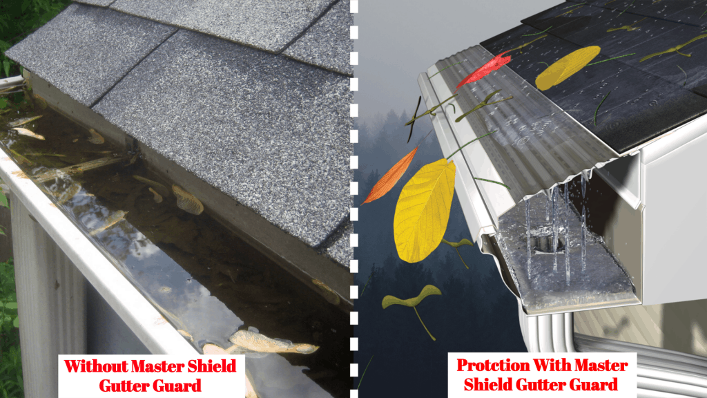 mastershield gutter guard cost